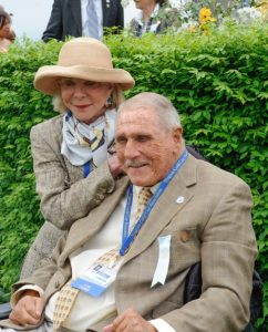 Trainer Irv Naylor with wife Diane